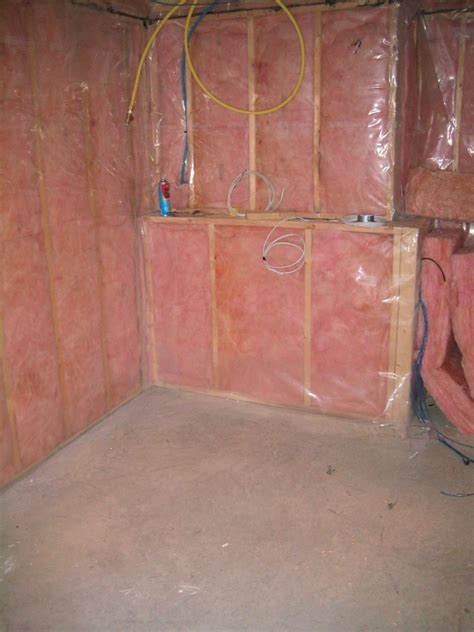 basement wall insulation options new basement and tile