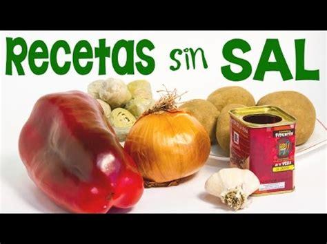 productos sin sal para hipertensos como preparar patatas a la hortelana