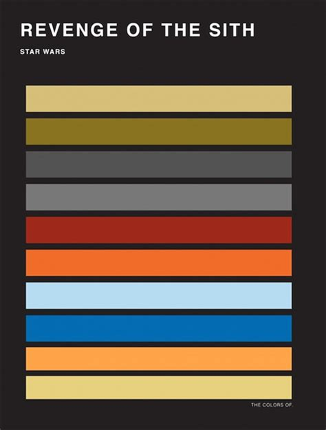 wars color scheme the wars series gets the minimalist treatment