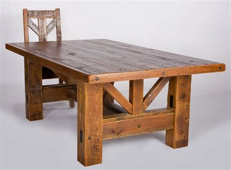 Rustic Wood Table Ls by 25 Best Ideas About Rustic Wood Tables On Rustic Wood Dining Table Kitchen
