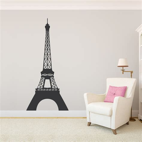 wall stickers eiffel tower eiffel tower wall decal sticker