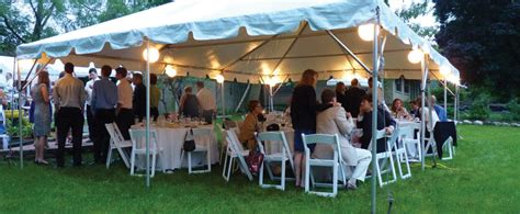 backyard party private party and backyard tent rental chicago il outdoor