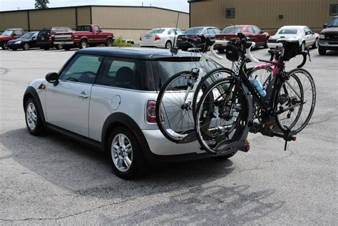mini cooper bike rack images