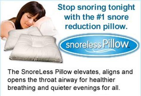 Sleep Apnea Pillows Do They Work by Snoreless Pillow Reviews Does Snoreless Pillow Work
