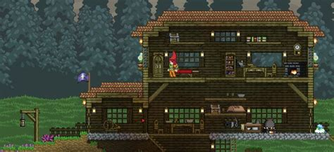 starbound houses starbound spirited giraffe day two the house has grown starbound inspiration gaming