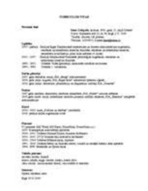 Cv In Paraugs Curriculum Vitae Paraugs Paraugs Cv Id 668437