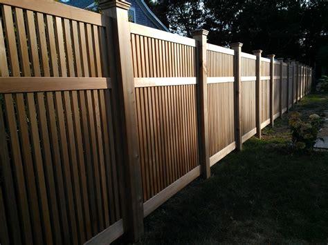 custom red cedar fence panels  tradecraft custom