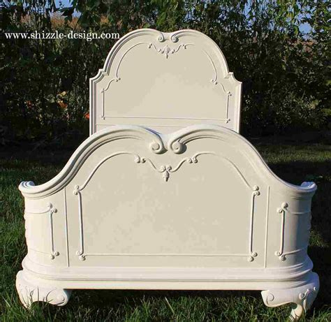 White Painted Headboard Shizzle Design S White Princess Bed