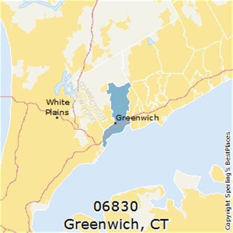 zip code map ct greenwich connecticut 06830 zip code map