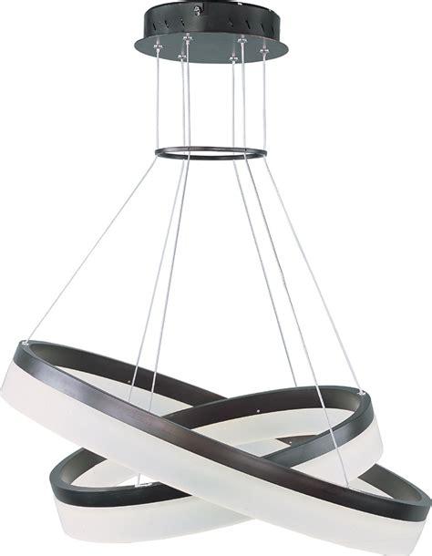 led suspended ceiling lights et2 e22455 11bz saturn contemporary bronze led drop