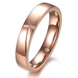 matching rings cross engraved rings matching couples promise rings engraving yoyoon 12212