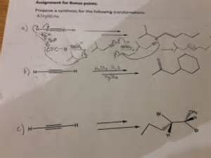 hydration questions and answers part b hydration of alkynes show mechanism