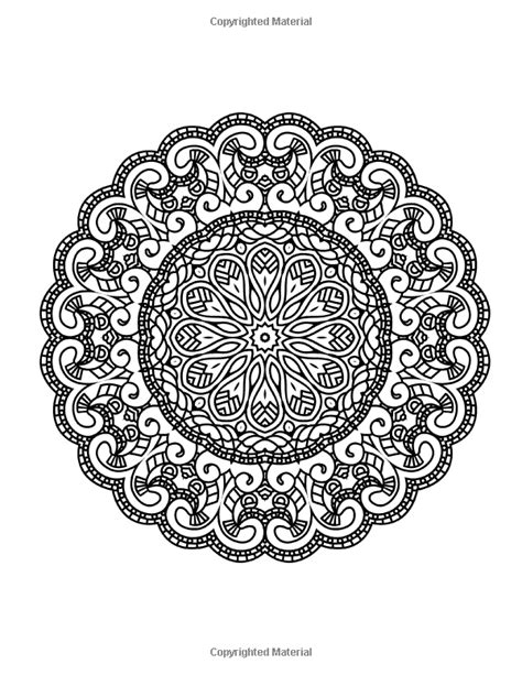 mandala coloring pages zen zen transcendental mandala coloring book for adults and