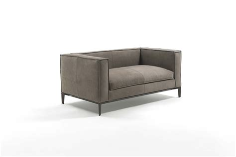 Divani E Sofa by Junior Leather Small Sofa By Frigerio Poltrone E Divani
