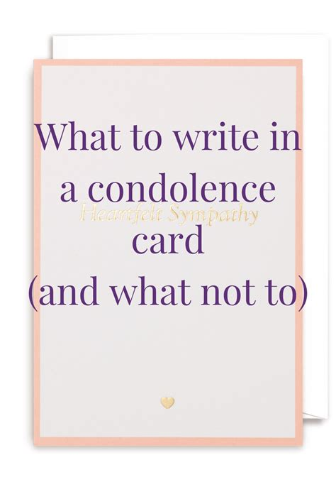 sympathy card template word sympathy messages what to write in a condolence card