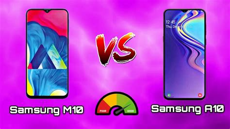 Samsung M10 Vs A10 by Samsung Galaxy M10 Vs Samsung Galaxy A10 Comparison Samsung A10 Vs Samsung M10