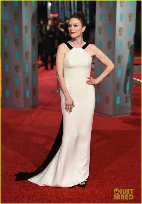 2016 bafta awards red carpet julianne moore kate winslet step out for baftas 2016