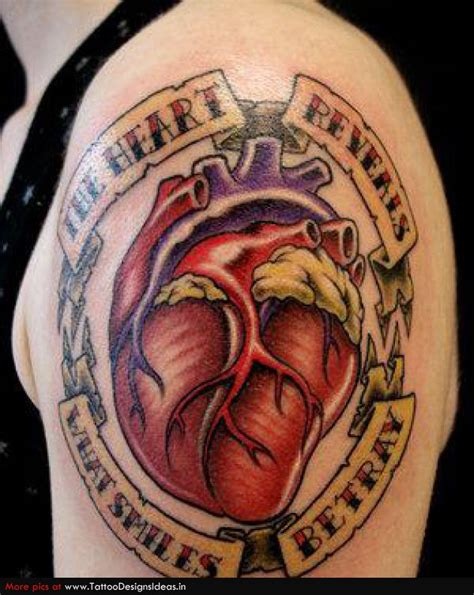 tattoo shoulder heart heart tattoos and designs page 87