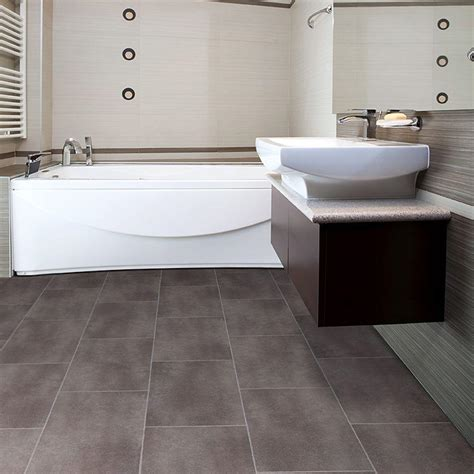 Tile Floor Bathroom 30 Amazing Ideas And Pictures Of The Best Vinyl Tile For Bathroom