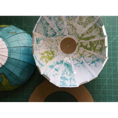 How To Make Paper Sphere - best photos of earth globe 3d paper template 3d paper