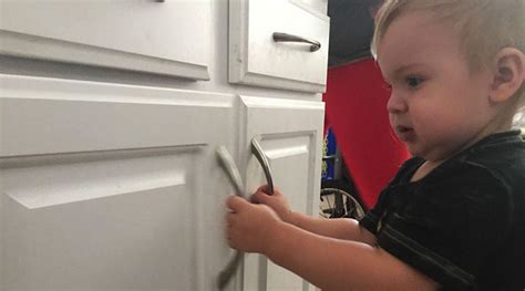 baby proofing kitchen cabinets professional home organizing tips to finally clear clutter
