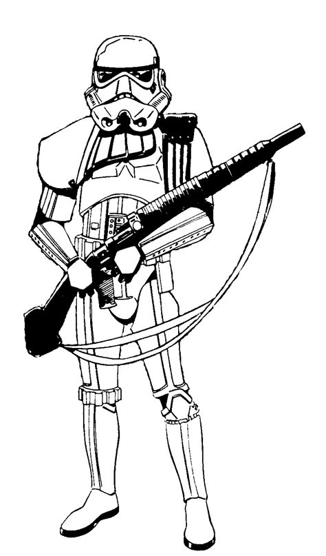 scout trooper coloring pages at st scout walker coloring page coloring pages