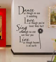 removable wall stickers quotes free shipping wholesale 50 discount off dance love sing