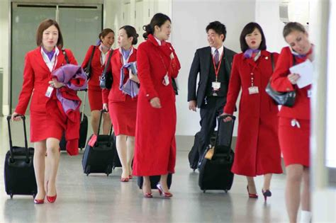 cabin crew atlantic airways hong kong to vs201