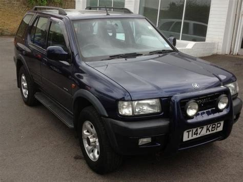 used vauxhall frontera 2003 diesel 2 2 dti limited 5dr