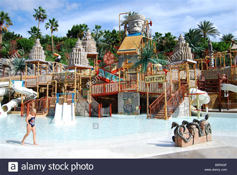 theme park tenerife lost city children s pool siam park water kingdom theme