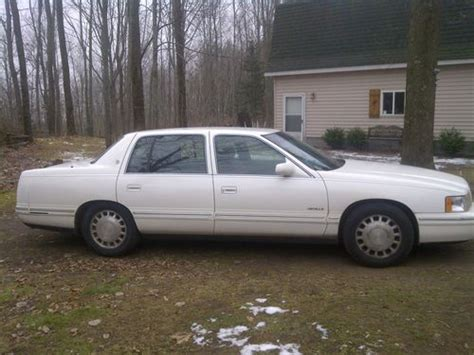 how does cars work 1997 cadillac deville electronic toll collection buy used 1997 cadillac deville sedan automatic 4 6l v8 no reserve in hale michigan united