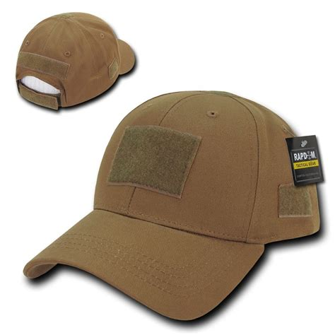 Patch M4 Operator Brown solid coyote brown tactical operator low crown contractor