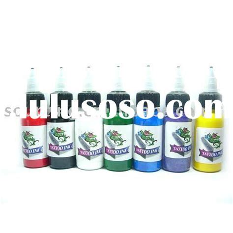 tattoo ink dry pigment new arrival 40 colors tattoo ink pigment 5ml bottle oem