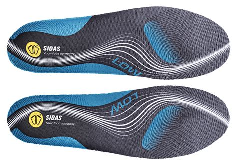 Sidas 3feet Activ Low Arch Insoles sidas 3feet activ insoles for low arches shoeinsoles co uk