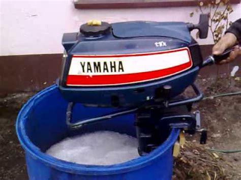 yamaha boat motor won t stay running yamaha 5 hp outboard motor 1980r air cooled 2 stroke