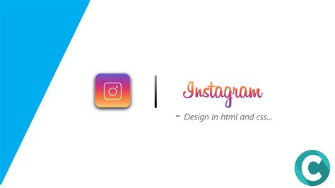 instagram layout css instagram logo design in html and css youtube