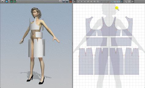 clothes pattern drafting software marvelous designer 2 pattern making cutting drafting