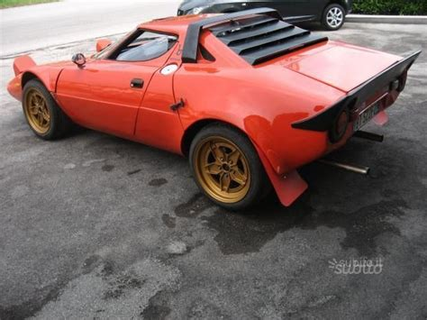 stratos replica sold lancia stratos replica 1998 used cars for sale