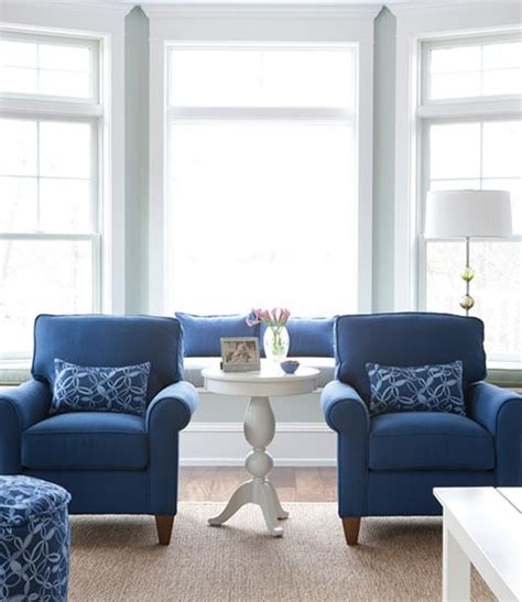 blue living room furniture wall color is blue chairs are the same color as my