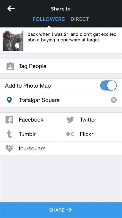 instagram locations add locations to un geotagged photos before posting to your instagram photo map 171 ios iphone