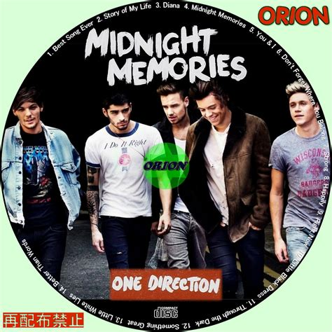Kaos 1d Midnight Memories Kaos まったり気ままにdvd 音楽