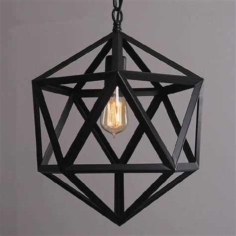 Black Iron Light Fixtures Dia 35 45 55cm Black Wrought Iron Loft L Industrial Pendant Light Moroccan Rustic Vintage