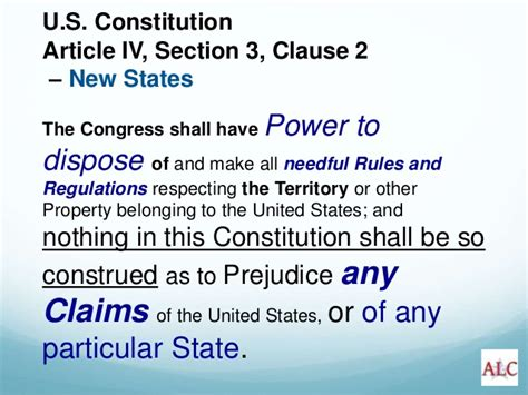 article 4 section 2 clause 3 oregon transfer of public lands presentation march 2015