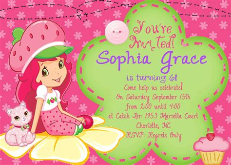 child birthday card invitation template 20 birthday invitations cards sle wording printable