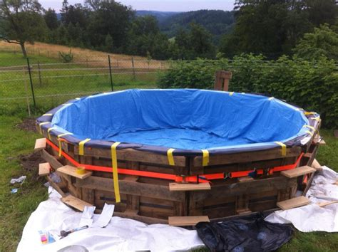 how to build a backyard pool this diy pallet swimming pool is for any backyard