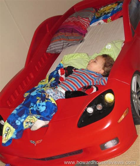 step 2 toddler car bed step2 corvette toddler to twin bed with lights