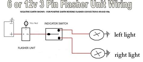 flasher wiring diagram 12v wiring diagram and schematic