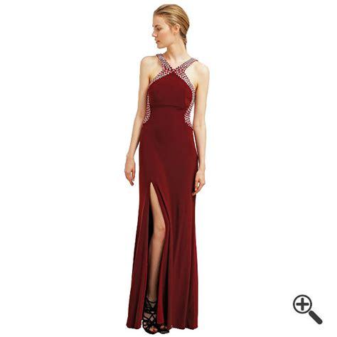 Abendkleid Bordeaux Lang by Rotes Abendkleid In Lang Kombinieren 3 Rote F 252 R