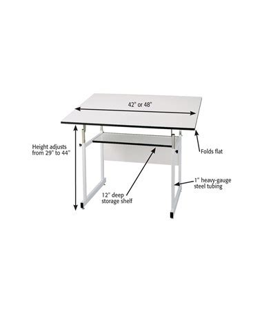 Alvin Workmaster Adjustable Drafting Table Alvin Workmaster Jr Drafting Table Tiger Supplies