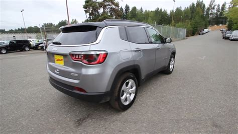 silver jeep compass 2018 jeep compass latitude billet silver metallic